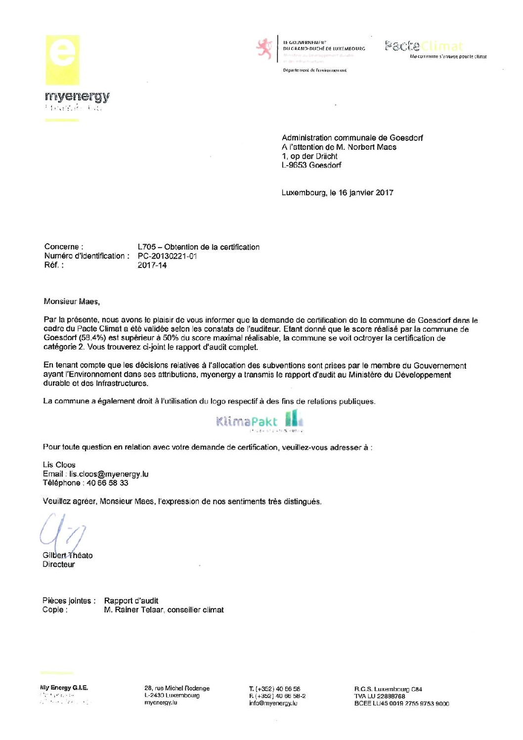 Certification-Klimapakt