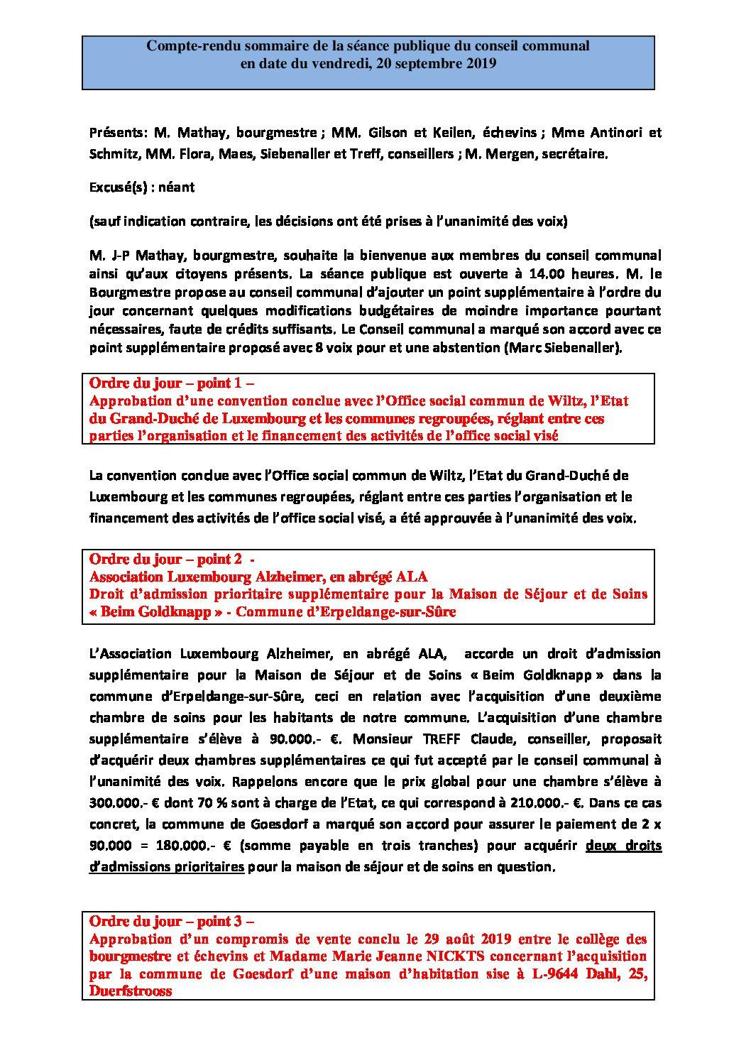 Rapport-Conseil communal 20-09-2019
