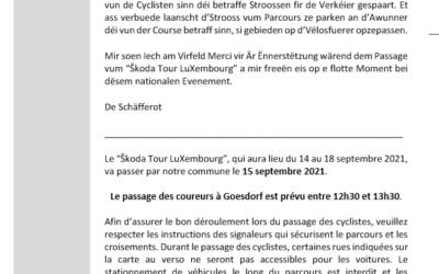 Skoda Tour LuXembourg